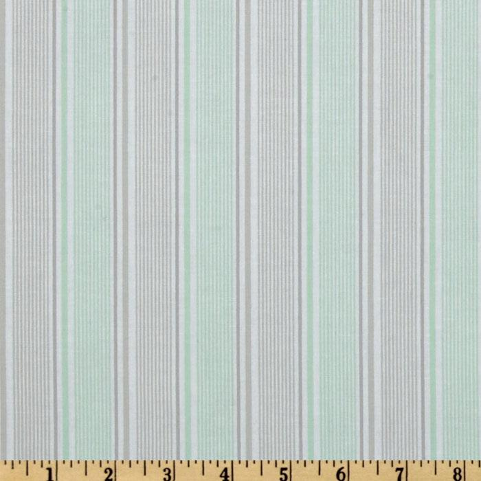 Riley Blake Willow Organic Stripe Green