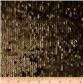 Envy Matte Sequin Netting Antique Gold