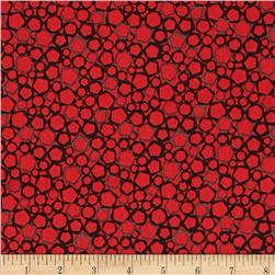 Graphix 3 Hexagons Red/Grey