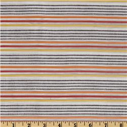 Kaufman Dobby Stripe Shirting Harvest