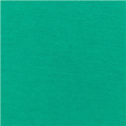 Kaufman Laguna Stretch Jersey Knit Emerald Fabric