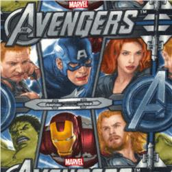 The Avengers Fleece Blue