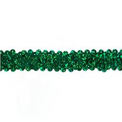 Team Spirit 3/4'' #30 Sequin Trim Green Spot