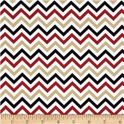 Ups & Downs Chevron Red/Black/Gold