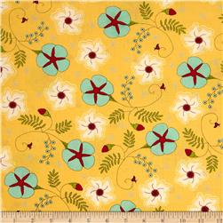 Moda The Sweet Life Prints Cheery Blossoms Sunshine