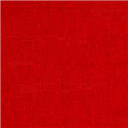 Rayon Linen Blend Red