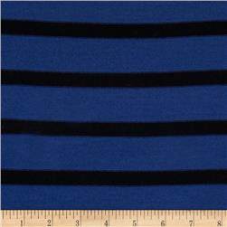 Stretch Hatchi Sweater Knit Stripes Blue/Black