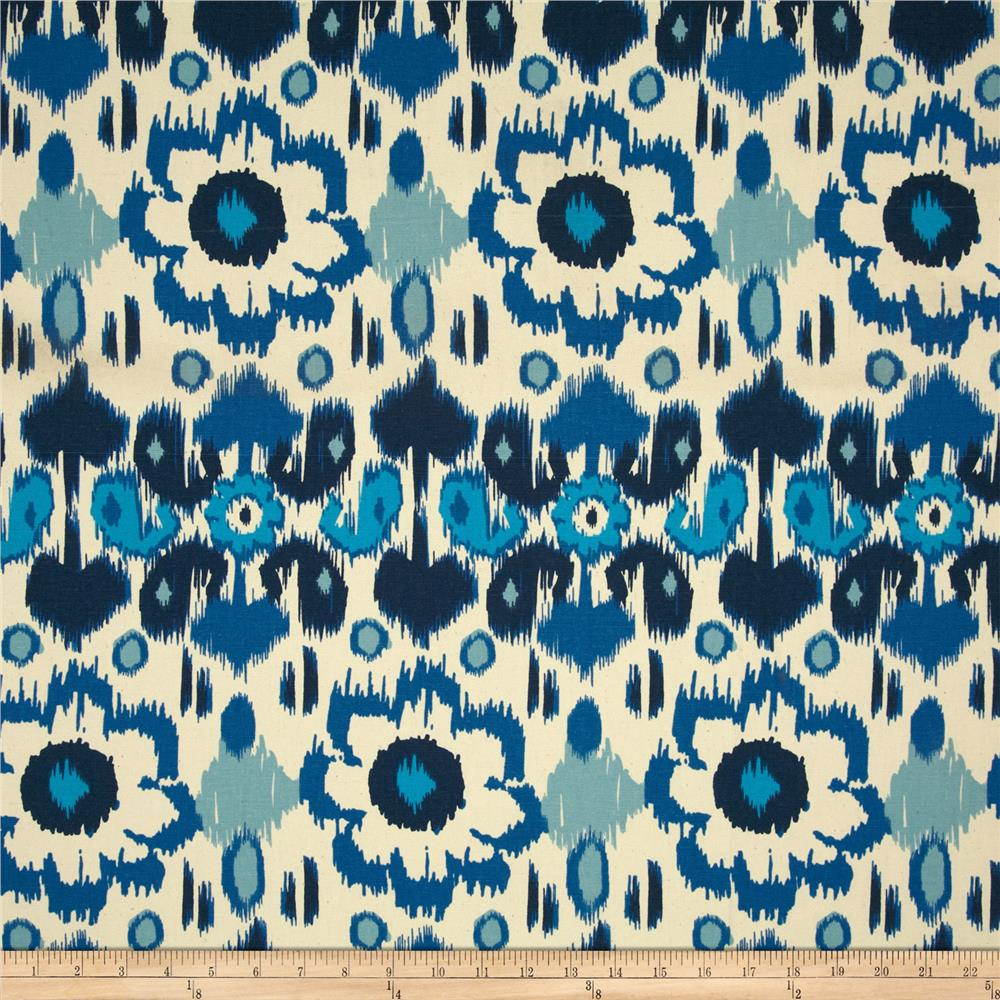 Premier Prints Rio Arctic Blue/Natural
