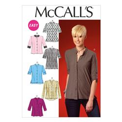 McCall's Misses' Tops and Tunic Pattern M7018 Size B50