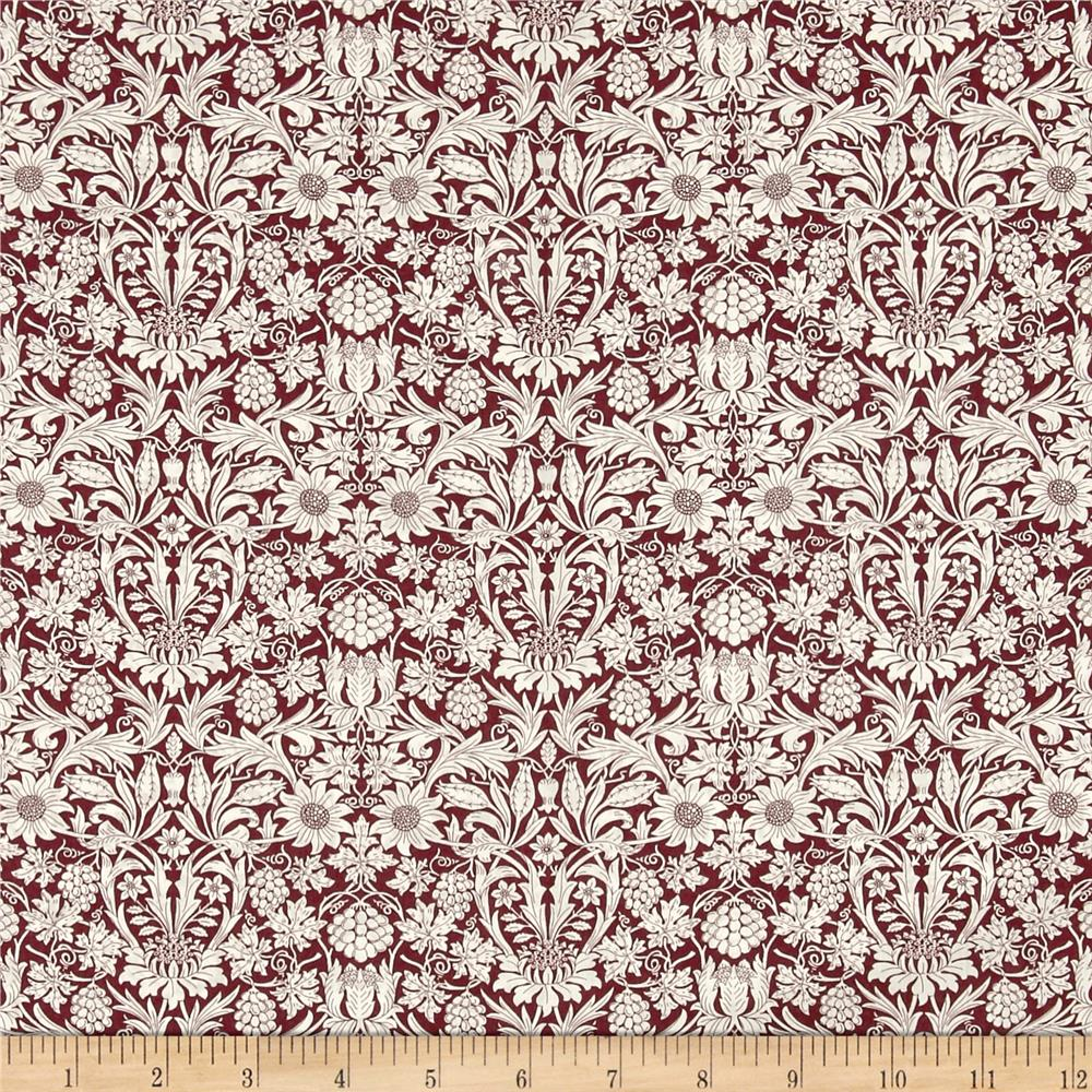 Liberty of London Classic Tana Lawn Mortimer Maroon