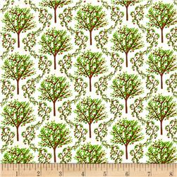 Barnyard Quilts Trees White