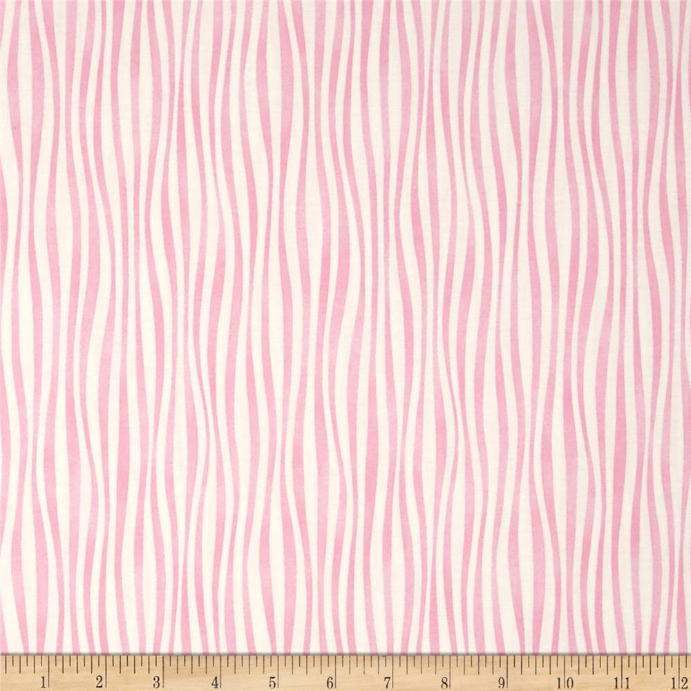 Moda Dogwood Trail II Wavy Stripe Porcelain