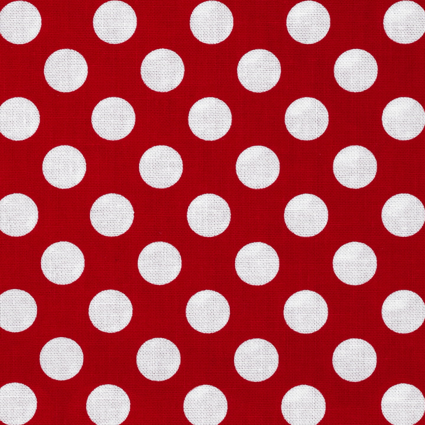 Michael Miller Ta Dot Red Fabric by Michael Miller in USA