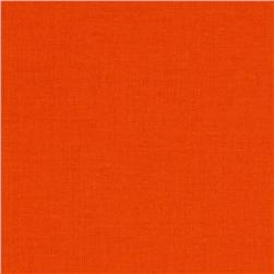 Kona Cotton Carrot Orange Fabric
