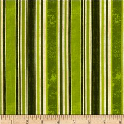 Fresh & Tasty Ticking Stripe Green