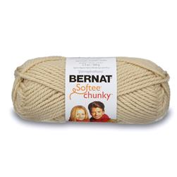 Bernat Softee Chunky Yarn (28021) Linen