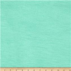 Lightweight Stretch Jersey Knit Kelly Mint