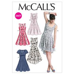 McCall's Misses' Dresses Pattern M6504 Size A50