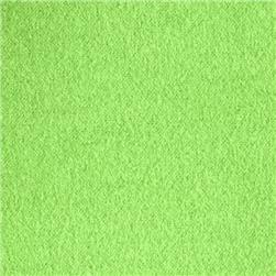 Comfy Double Napped Flannel Lime
