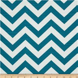 Premier Prints Zig Zag Slub Aquarius Fabric