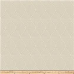 Fabricut Marvelettes Embroidered Organza Ivory