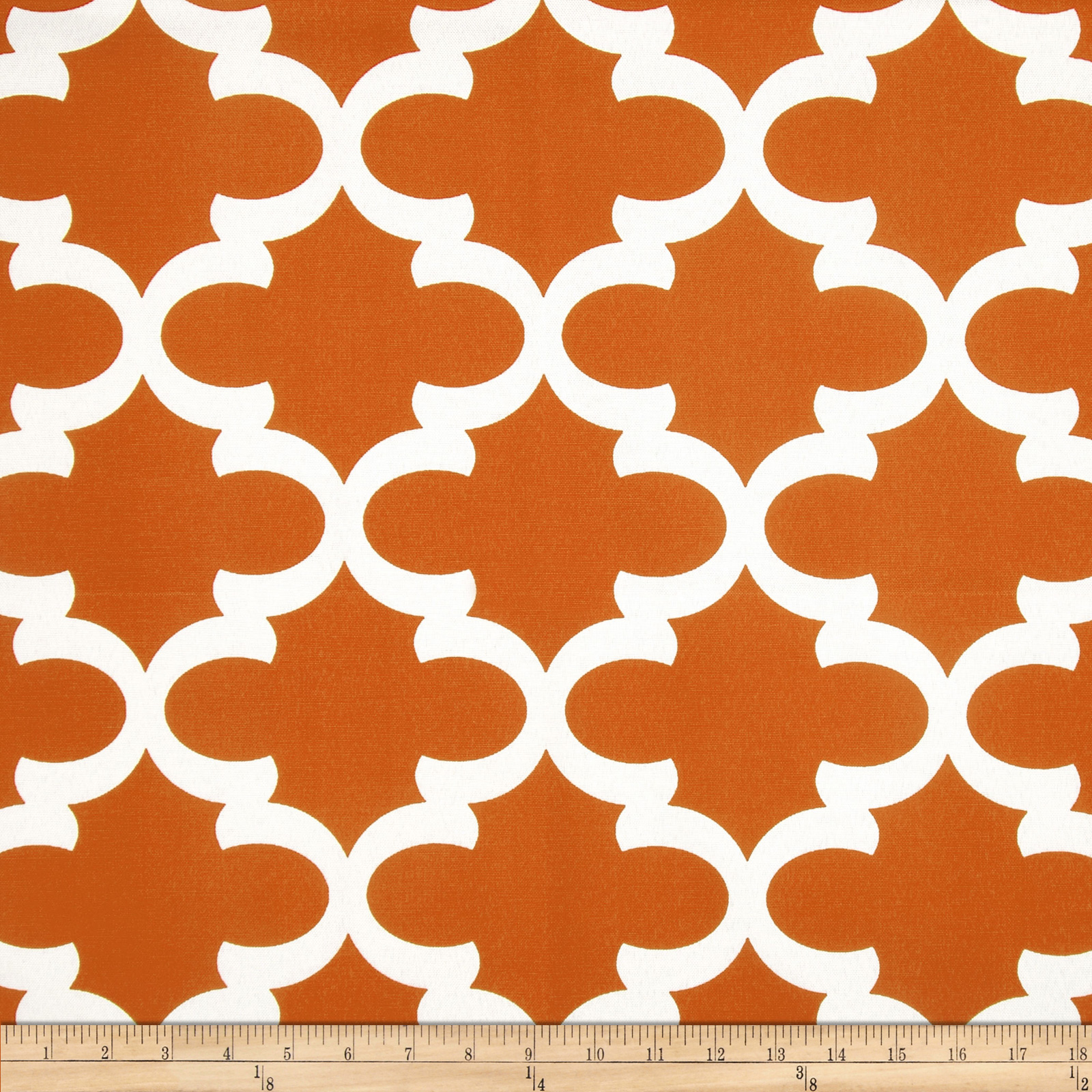 Premier Prints Fynn Macon Apache Orange Fabric