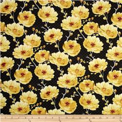 Sunshine Medium Floral Dark Gray