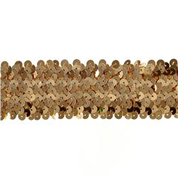Team Spirit #68 Sequin Trim Gold