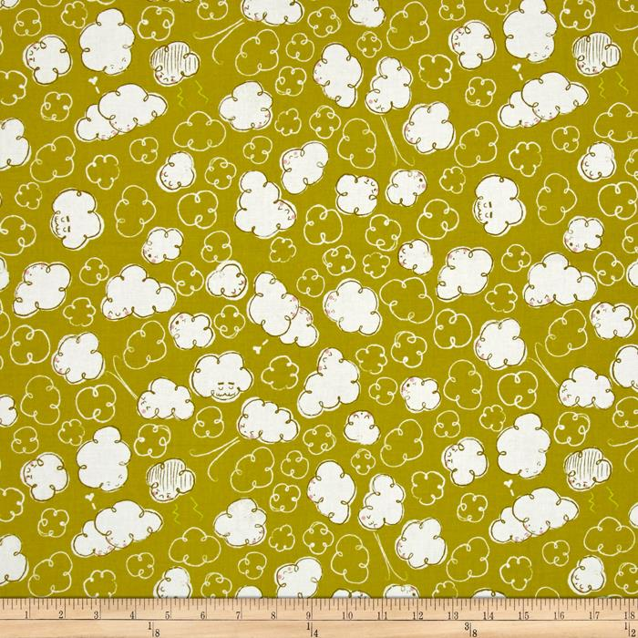 Cotton + Steel Zephyr Gale Citron
