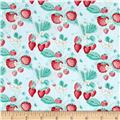 Penny Rose Shabby Strawberry Main Blue