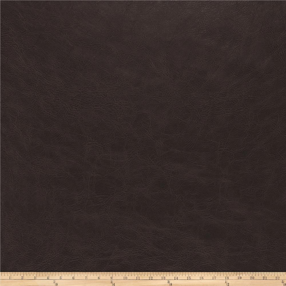 Fabricut Overlook Faux Leather Espresso