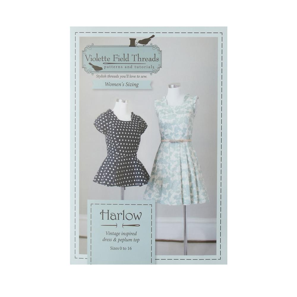 Harlow Misses Dress & Top Pattern