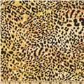 Cheetah Cotton Duck Gold/Black
