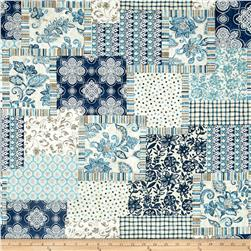 Timeless Treasures Santorini Patchwork Multi