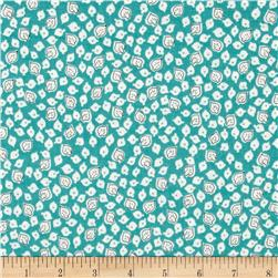 Penny Rose Hope Chest 2 Leaves Blue