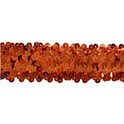 Team Spirit #68 Sequin Trim Orange