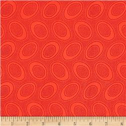 Kaffe Fasset Collective Aboriginal Dot Orange