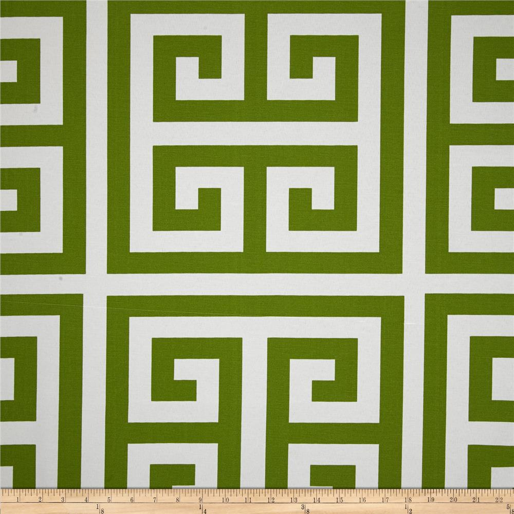 Premier Prints Indoor/Outdoor Zeus Bay Green