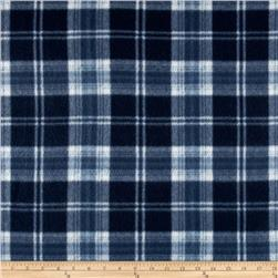Fleece Plaid Navy/Black