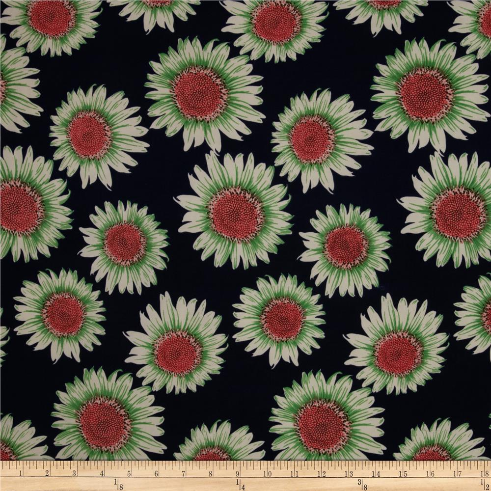 Designer Stretch ITY Knit Sunflower Green