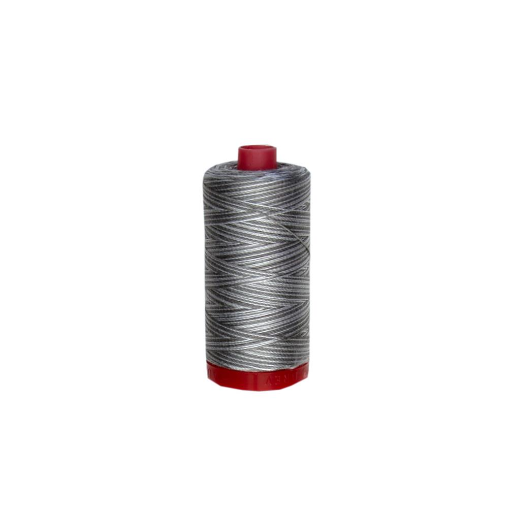 Aurifil Embellishment Thread 12Wt Silver Fox