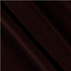 Polyester Jersey Knit Solid Dark Brown
