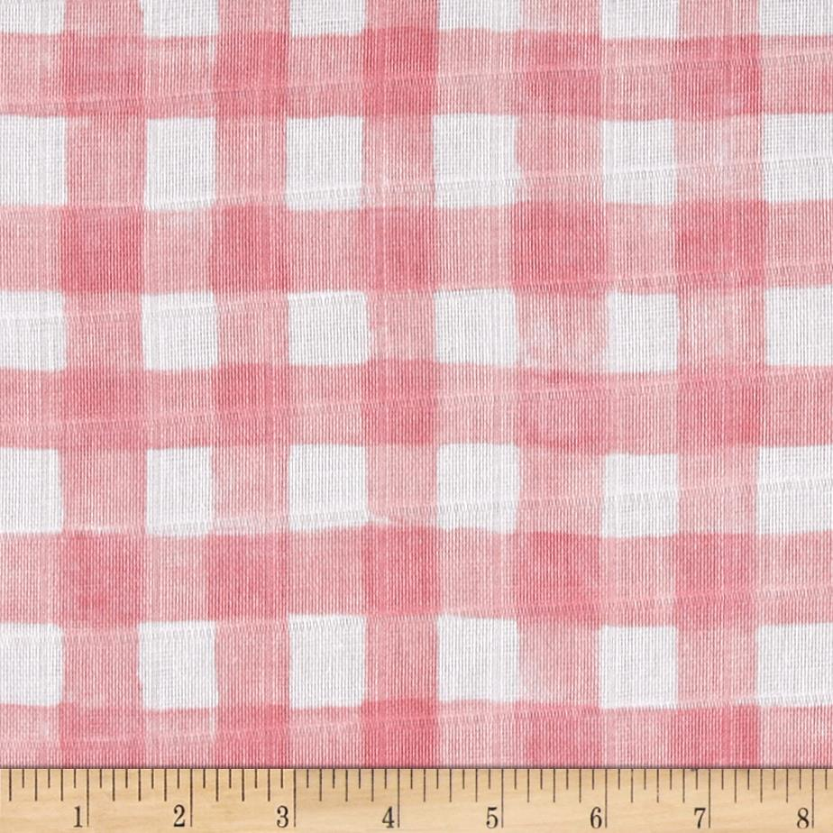 Michael Miller Sommer Double Gauze Mini Painted Gingham Blossom