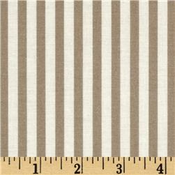Moda Windsor Lane Stripe Taupe