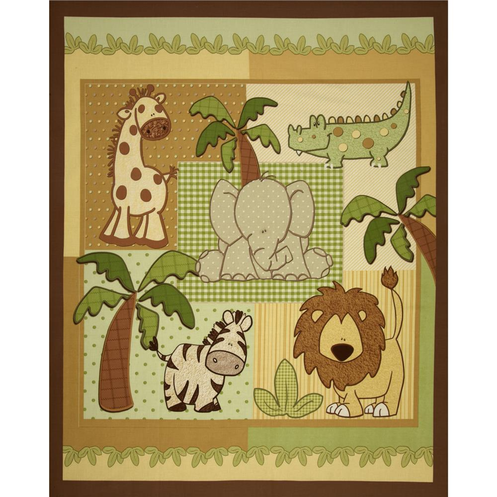 Kimba Animal Panel Brown