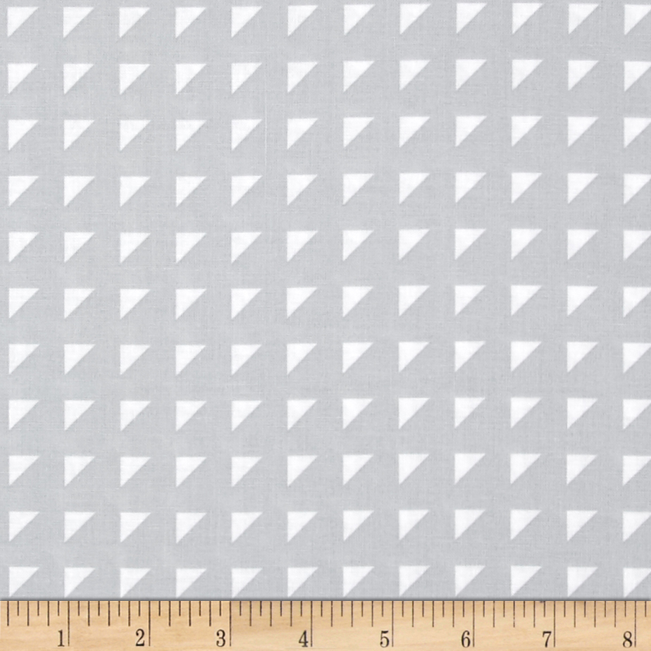 Hoffman Simply Eclectic Triangle Geo Mist Fabric by Hoffman of California in USA