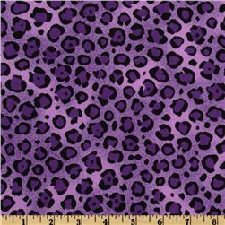 Animal Print Leopard Purple/Black