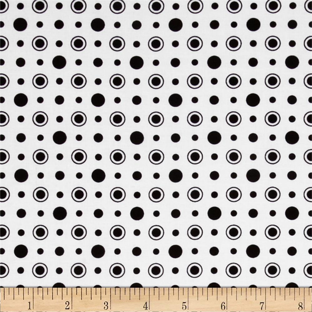 Matrix Dots White/Black