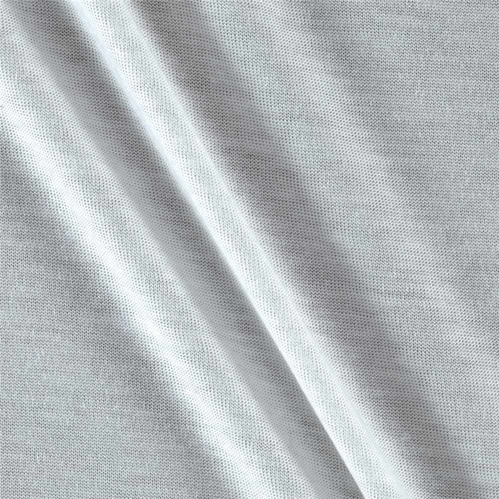Soft Rayon Jersey Knit Frost Fabric By The Yard