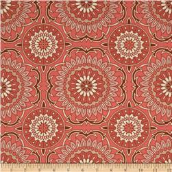 Joel Dewberry Bungalow Doily Coral Fabric
